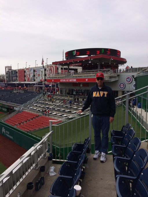 Photographic proof that dad was in attendance on Opening Day 2014