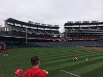 The Nationals take their swings in batting practice (Photo by Paul Fritschner)