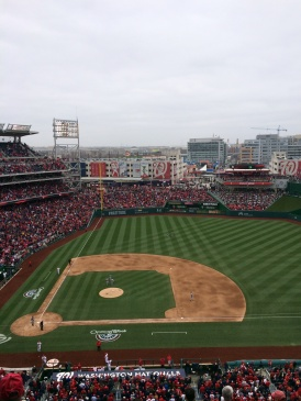 Washington Nationals vs. Atlanta Braves 4-4-14 (Photo by Paul Fritschner)