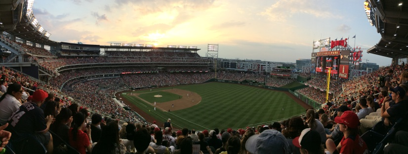 Panorama picture of Nationals Park (Picture by Paul Fritschner)